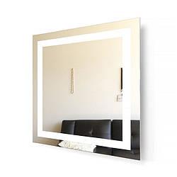 Зеркало Aqua Rodos Альфа с подсветкой LED 80 см