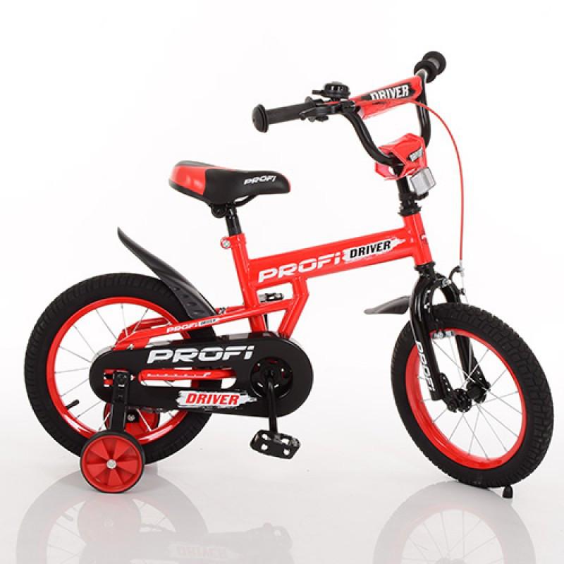 Детский двухколесный велосипед PROFI 12 дюймов Driver, L12112