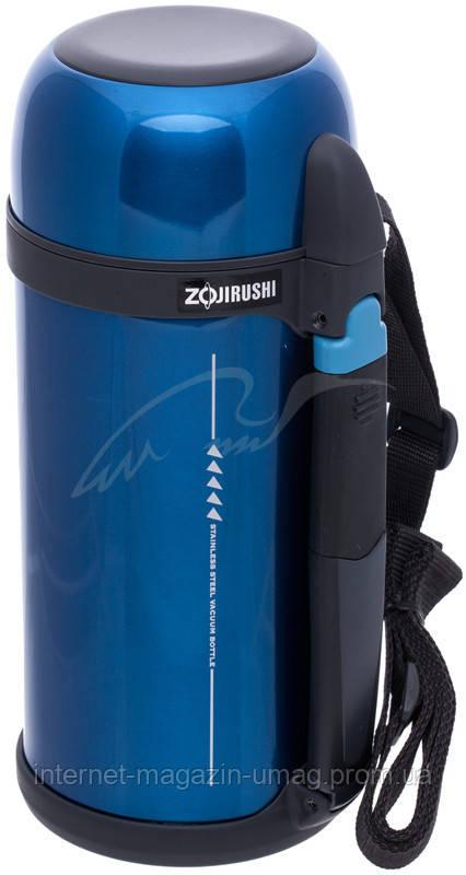 Термос Zojirushi SF-CС15AН 1.5 л (складная ручка+ремешок) синий