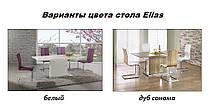 Стол обеденный Elias белый (Halmar TM), фото 2