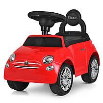 Каталка-толокар для малышей HZ620-3 FIAT 500 Быстрая доставка.