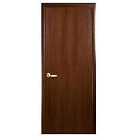 Межкомнатная дверь Новый стиль Колори Стандарт глухая 800 мм орех
