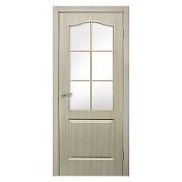 Межкомнатная дверь Омис Классика со стеклом 800мм дуб беленый