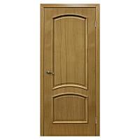 Межкомнатная дверь шпон Омис Капри 900мм глухая дуб