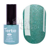 Гель-лак Tertio №074 (светло-зеленый, микроблеск), 10 мл