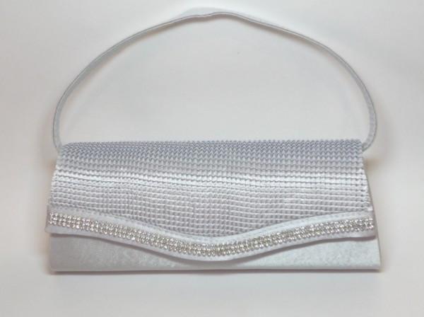 e4cf8f0bc8dc Сумка-клатч, ткань, серая, белые стразы, 27х11 см купить в интернет ...
