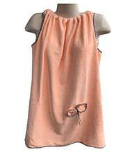 Полотенце Халат 140*80 см розовый