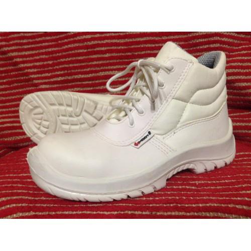 Ботинки Модиф для внутренних работ белые (высокие) Wurth