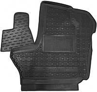 Полиуретановый водительский коврик для ГАЗ ГАЗель Next (ручка КП сверху на панели) 2013- (AVTO-GUMM)