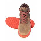 Ботинки Wurth серые без защиты носка на красной подошве, фото 2