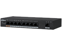 8-портовий некерований PoE комутатор Dahua PFS3009-8ET-96
