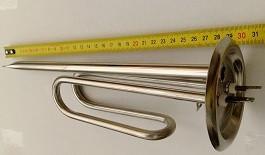 Тэн для бойлера Феролли,Термекс 1,5 кВт, нержавеющий