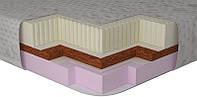 Топпер тонкий матрас с памятью скрутка Memotex Kokos (Мемотекс Кокос) Matro-Roll 80x190 см
