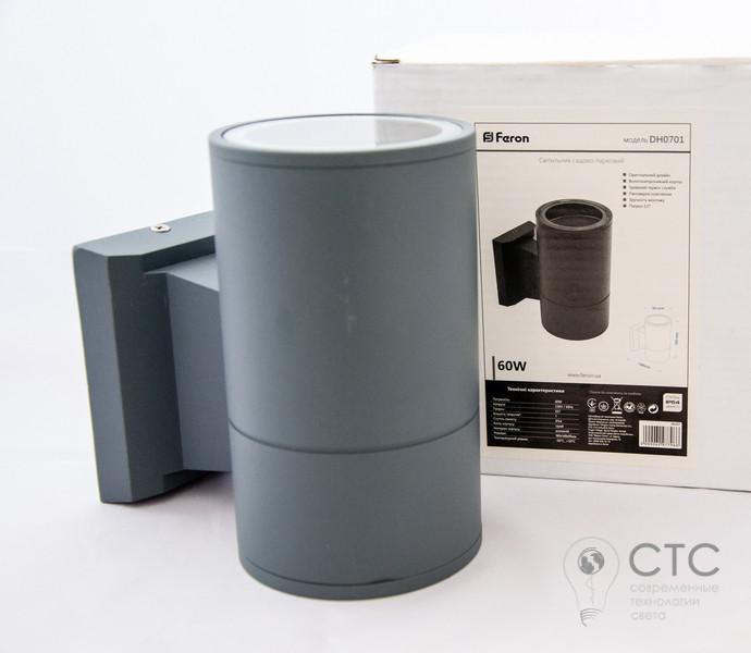 Светодиодный светильник Feron DH0701 E27 серый