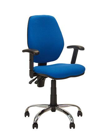 Крісло офісне Master GTR window механізм Freestyle хрестовина CHR68, тканина С-6 (Новий Стиль ТМ), фото 2