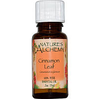 Эфирное масло листьев корицы, Nature's Alchemy, 15 мл