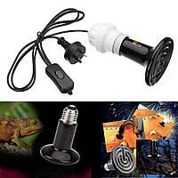 E27 50W 75W 100W 150W 200W Керамический Адаптер лампы для лампового излучателя для рептилии Pet AC220V