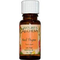 Эфирное масло красного тимьяна (Red Thyme), Nature's Alchemy, 15 мл
