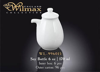 Бутылка для соуса Wilmax 996015