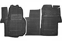 Полиуретановые коврики в салон Volkswagen Crafter II (1+1) 2017- (AVTO-GUMM)
