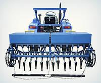 Сеялка зерновая 12-рядная для минитрактора Премиум, фото 1