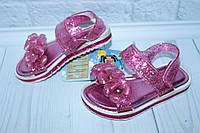 Босоножки-сандалии силиконовые на девочку тм Шалунишка, р. 26,27, фото 1