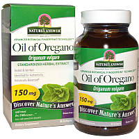 Масло орегано (Oil of Oregano), Nature's Answer,150мг, 60 капсул