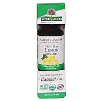 Лимонное масло (Lemon Oil), Nature's Answer, 15 мл