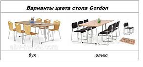 Стол Gordon 90*180 бук (Halmar TM), фото 2