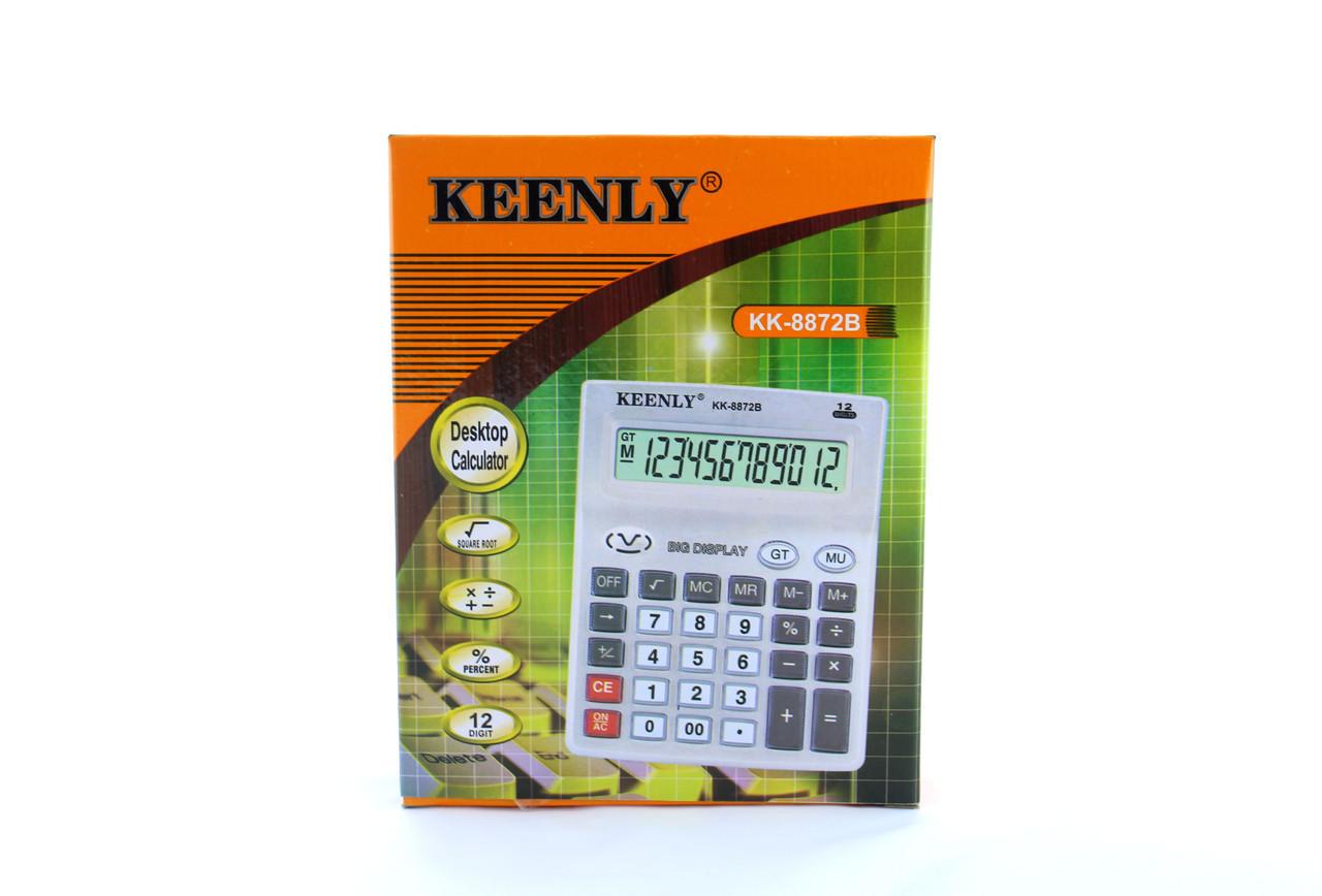 Калькулятор настольный KEENLY 8872B, большой электронный калькулятор