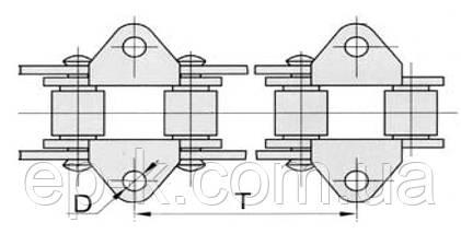 Цепи ТРД 38-3000-1-1-6-2, фото 2