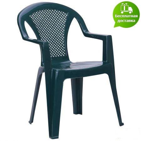 Стул Ischia пластик зеленый 15