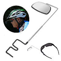 BIKIGHTАлюминиевыйсплавЛегкий360-градусныйвелосипедный шлем крепления Зеркала заднего вида Регулируемые
