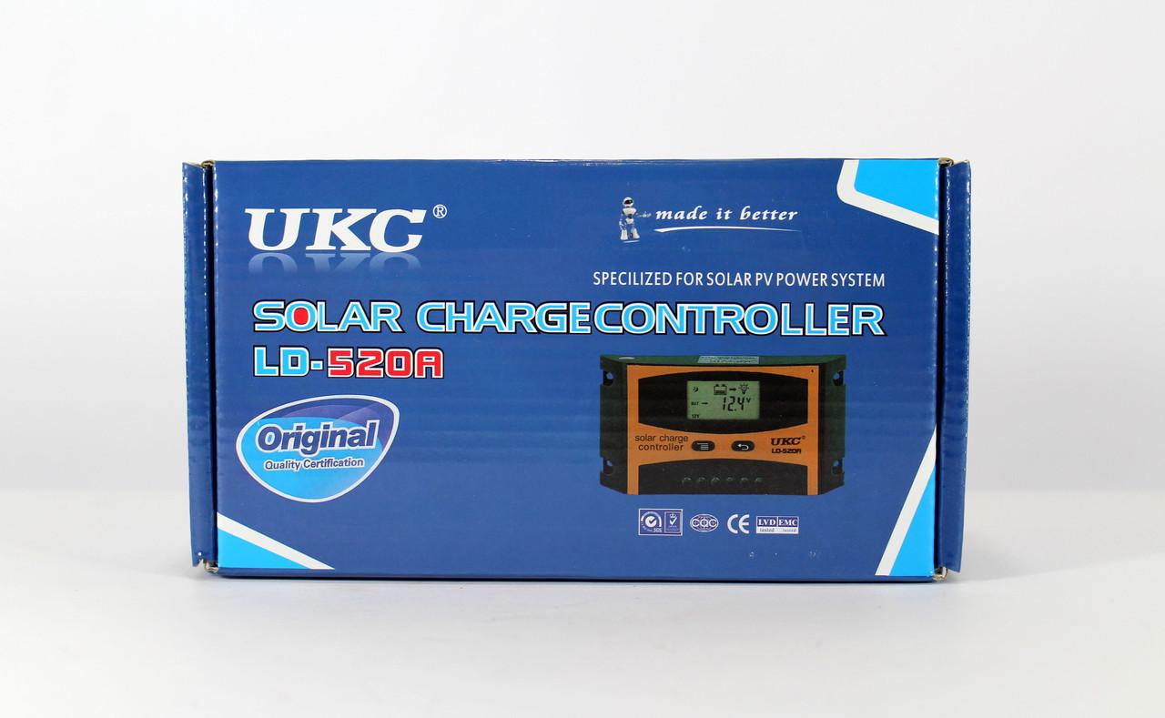 Солнечный контроллер заряда Solar controler 10A LD-510A UKC / контроллер для солнечной панели