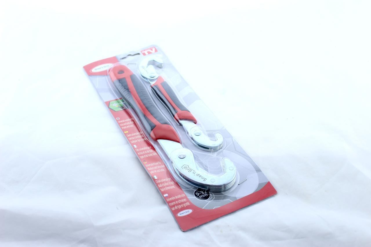 Универсальный гаечный ключ Snap'N Grip 2 ключа 3в1