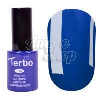 Гель-лак Tertio №080 (ярко-синий, эмаль), 10 мл