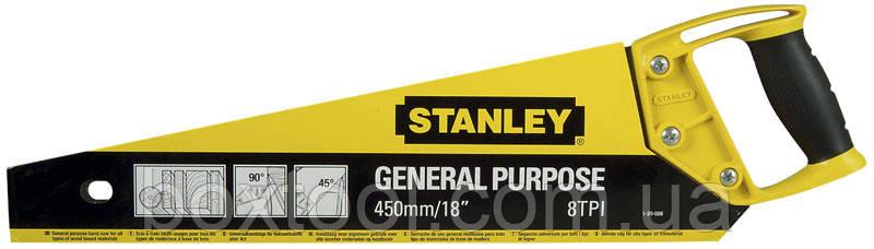 Ножівка по дереву 450 мм Stanley 1-20-086