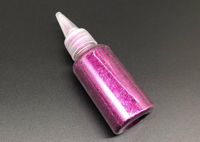 Глиттер розовый (декоративные блёстки ) 25 гр