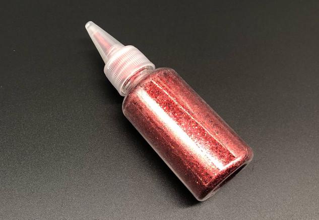 Глиттер красный (декоративные блёстки ) 25 гр