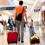 Детские чемоданы на колесах