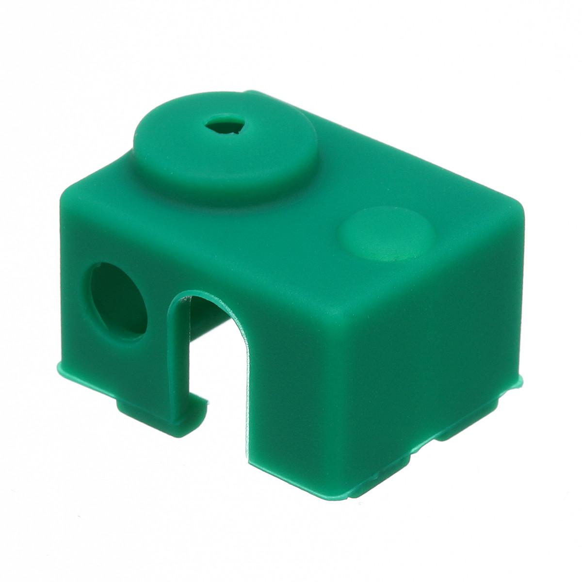 3Pcs зеленый Силиконовый Чехол Для E3D-V6 Нагреватель Части блока 3D блока 3D 1TopShop