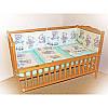 """Детское постельное белье в кроватку """"Карапуз"""" комплект 6 ед. (мишка игрушки салатовый), фото 4"""