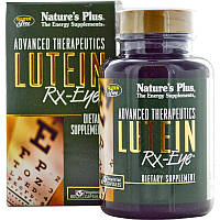 Лютеин (Advanced Therapeutics, Lutein), Nature's Plus, RX-Eye, 60 капсул