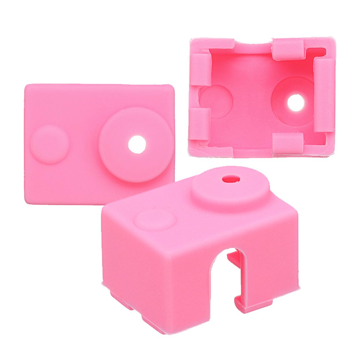 3Pcs Розовый Силиконовый Чехол Для E3D-V6 Термисторные 3D-принтеры 1TopShop