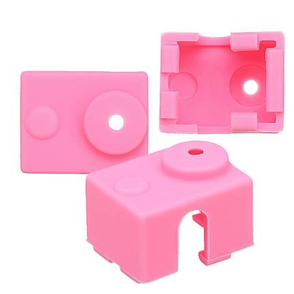 3Pcs Розовый Силиконовый Чехол Для E3D-V6 Термисторные 3D-принтеры 1TopShop, фото 2