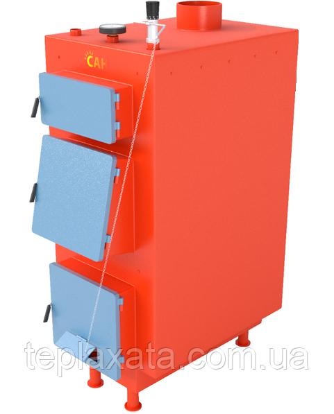 Твердопаливний котел САН ЕКО-У (ПОСИЛЕНІ) 10 кВт