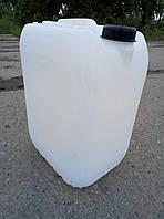 Пластиковая канистра с крышкой, 20 л (Б/У)