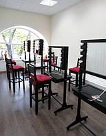 Мобильные студии для визажистов (двухсторонние) изготовлены для Школы визажа Наталии Найды