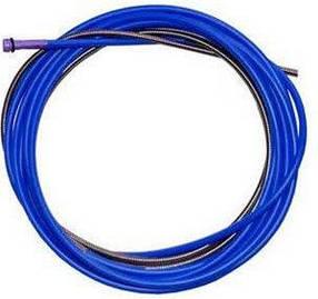 Спираль подающая (синяя) 1,5/4,5/340 мм для проволоки D 0,8 - 1,0 мм ABICOR BINZEL