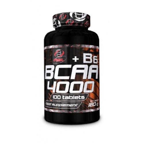 Аминокислота AllSports Labs BCAA 4000 + B6 100 tabs
